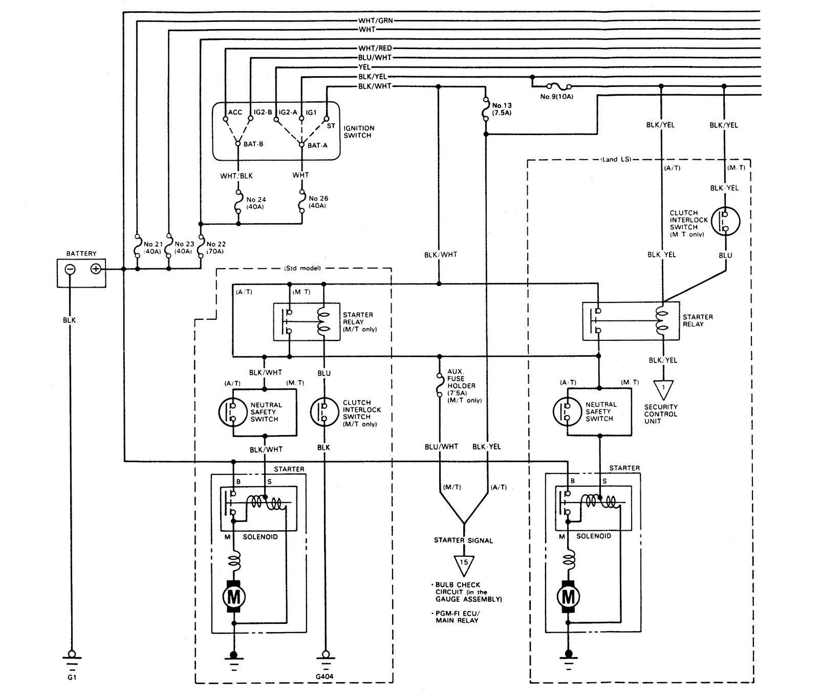 1991 Acura Legend Engine