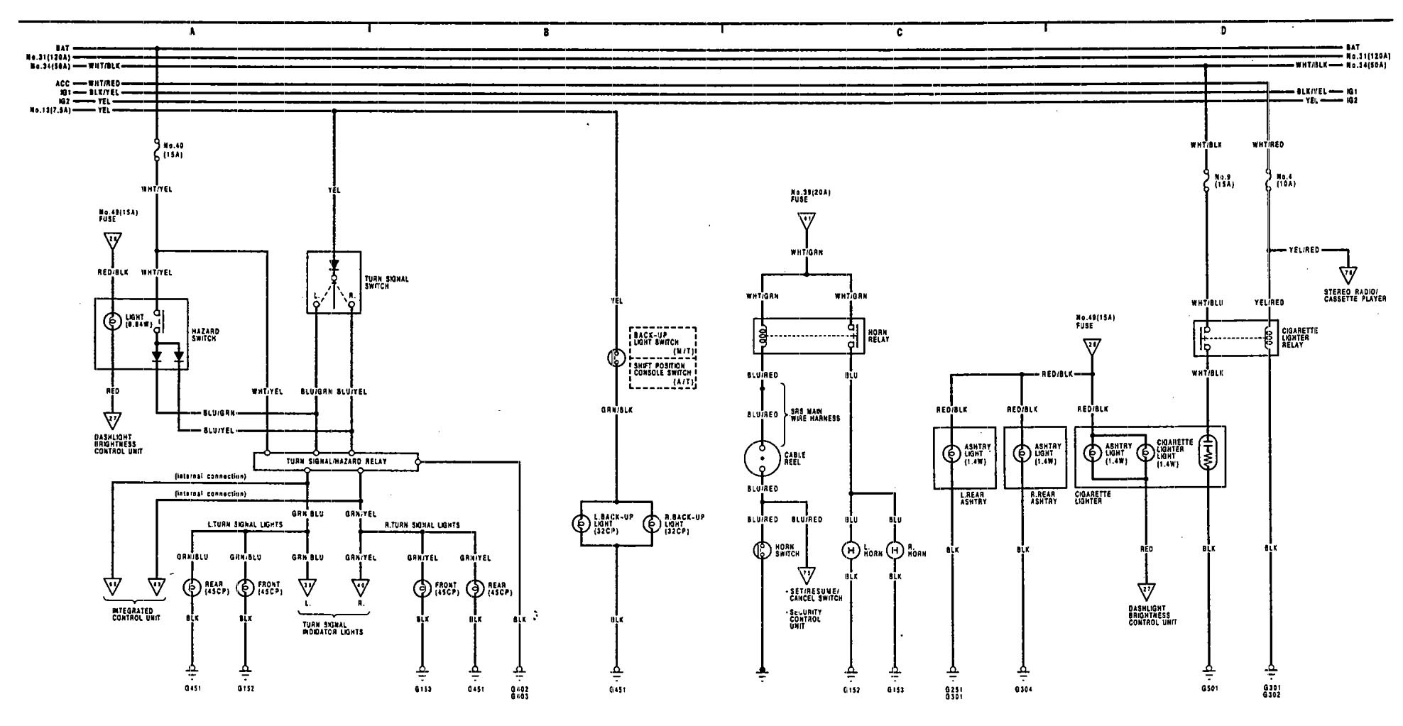hight resolution of 91 acura legend wiring diagram wiring library rh academium co uk 1990 acura legend 1990 acura legend