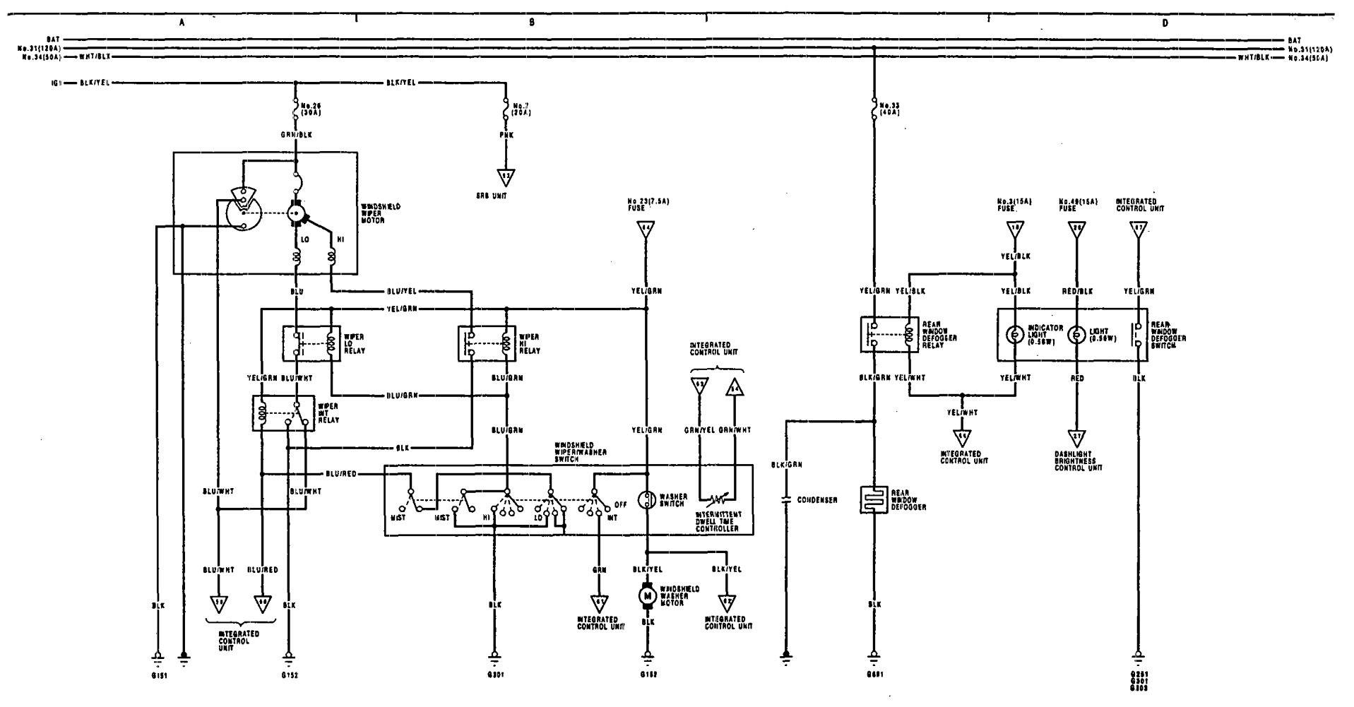Legend Wiring Diagram