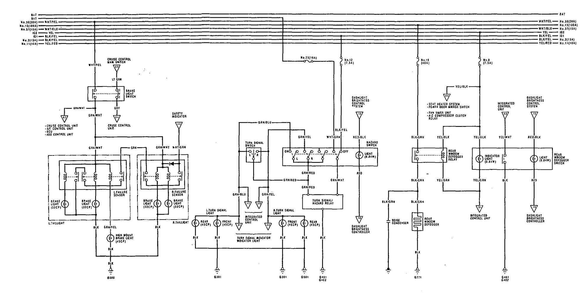 Wire Diagrams For 92 Acura Vigor : 32 Wiring Diagram