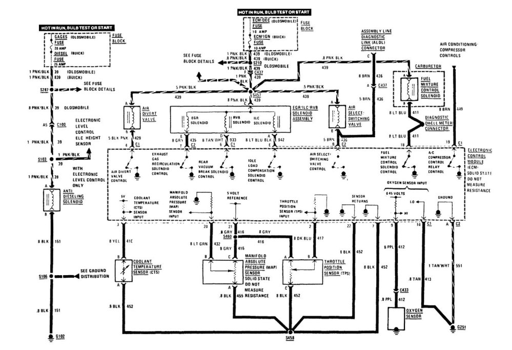 medium resolution of buick century 1989 wiring diagrams computer data 1995 buick century 1995 buick century