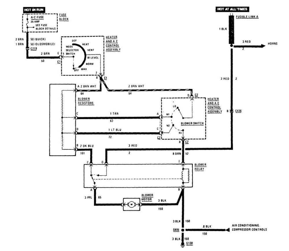 medium resolution of buick century fuse box hvac controls part 1