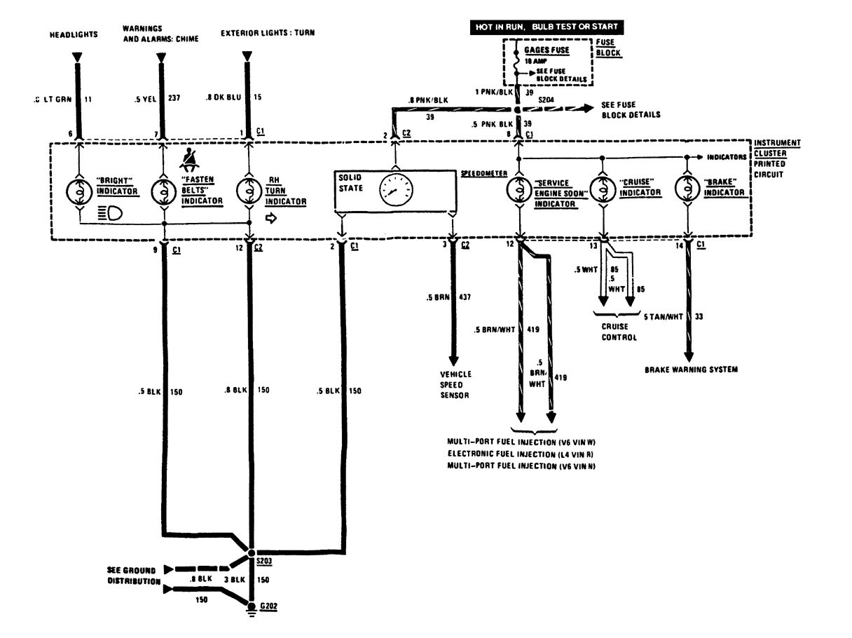 hight resolution of 1989 buick lesabre fuse diagram