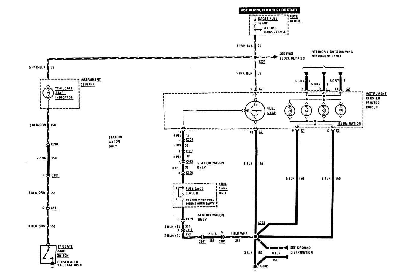hight resolution of 1989 buick lesabre fuse box diagram
