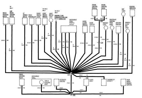 small resolution of buick century wiring diagram ground distribution