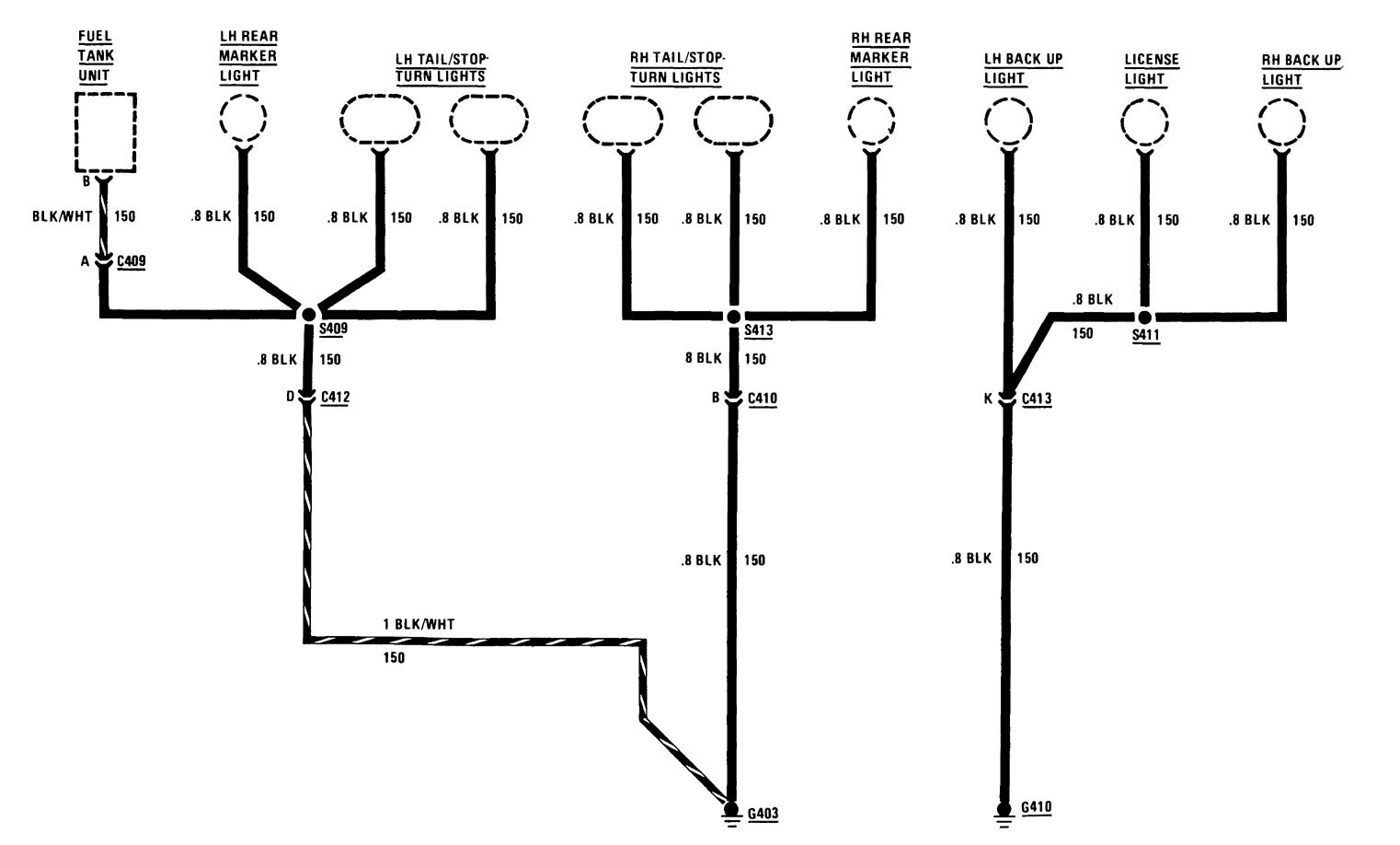 hight resolution of buick century wiring diagram ground distribution
