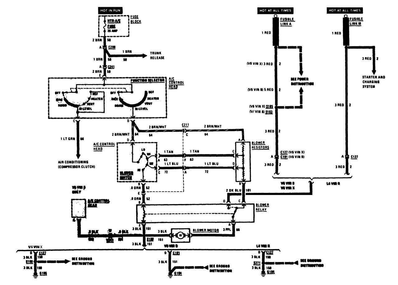 hight resolution of buick century wiring diagram hvac controls