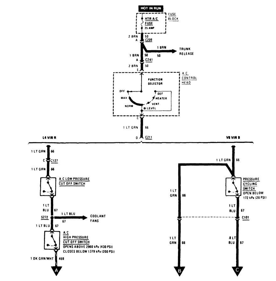 hight resolution of buick century wiring diagram hvac controls part 1