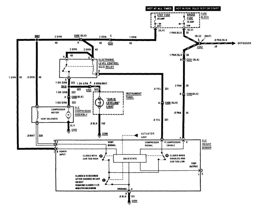 medium resolution of buick century 1986 1987 wiring diagrams suspension controls 2002 buick century wiring diagram 1986 buick century wiring diagram