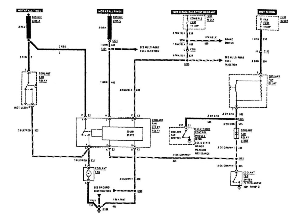 medium resolution of buick century wiring diagrams cooling fans