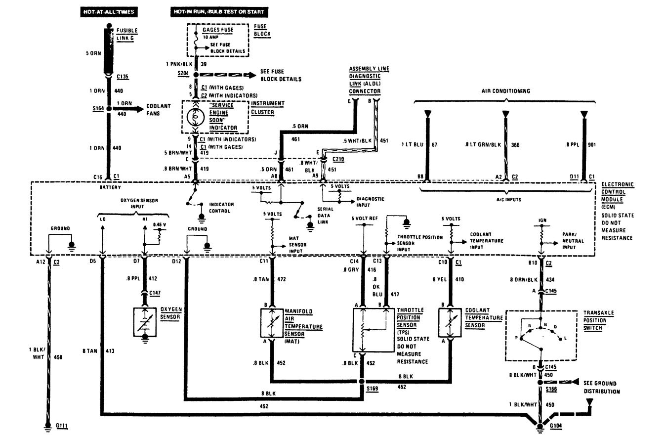 hight resolution of 1988 buick lesabre wiring diagram