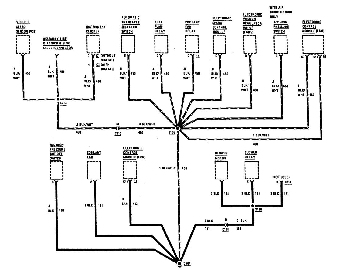 1995 Buick Regal Electrical Diagram. Buick. Auto Wiring