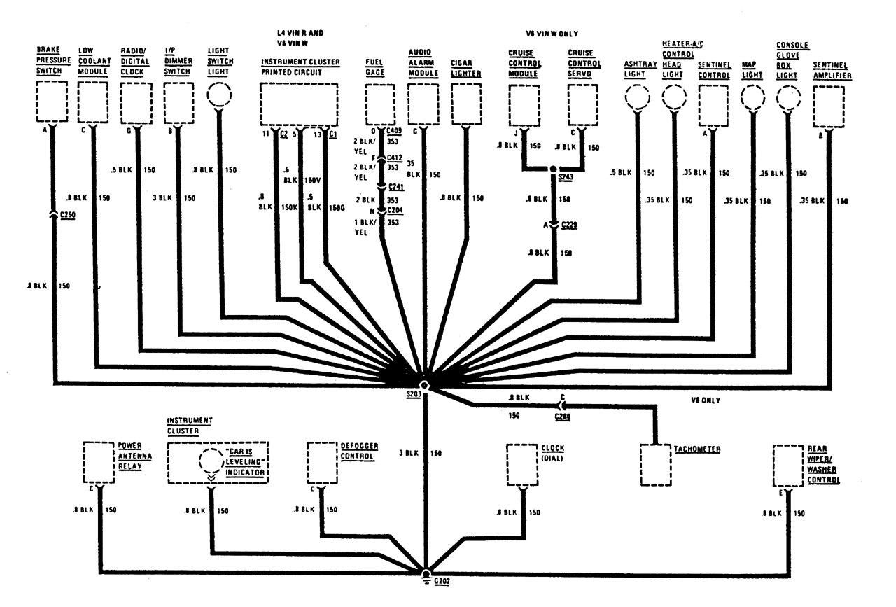 Buick century 1987 wiring diagrams ground distribution 2003 buick lesabre wiring diagram 2001