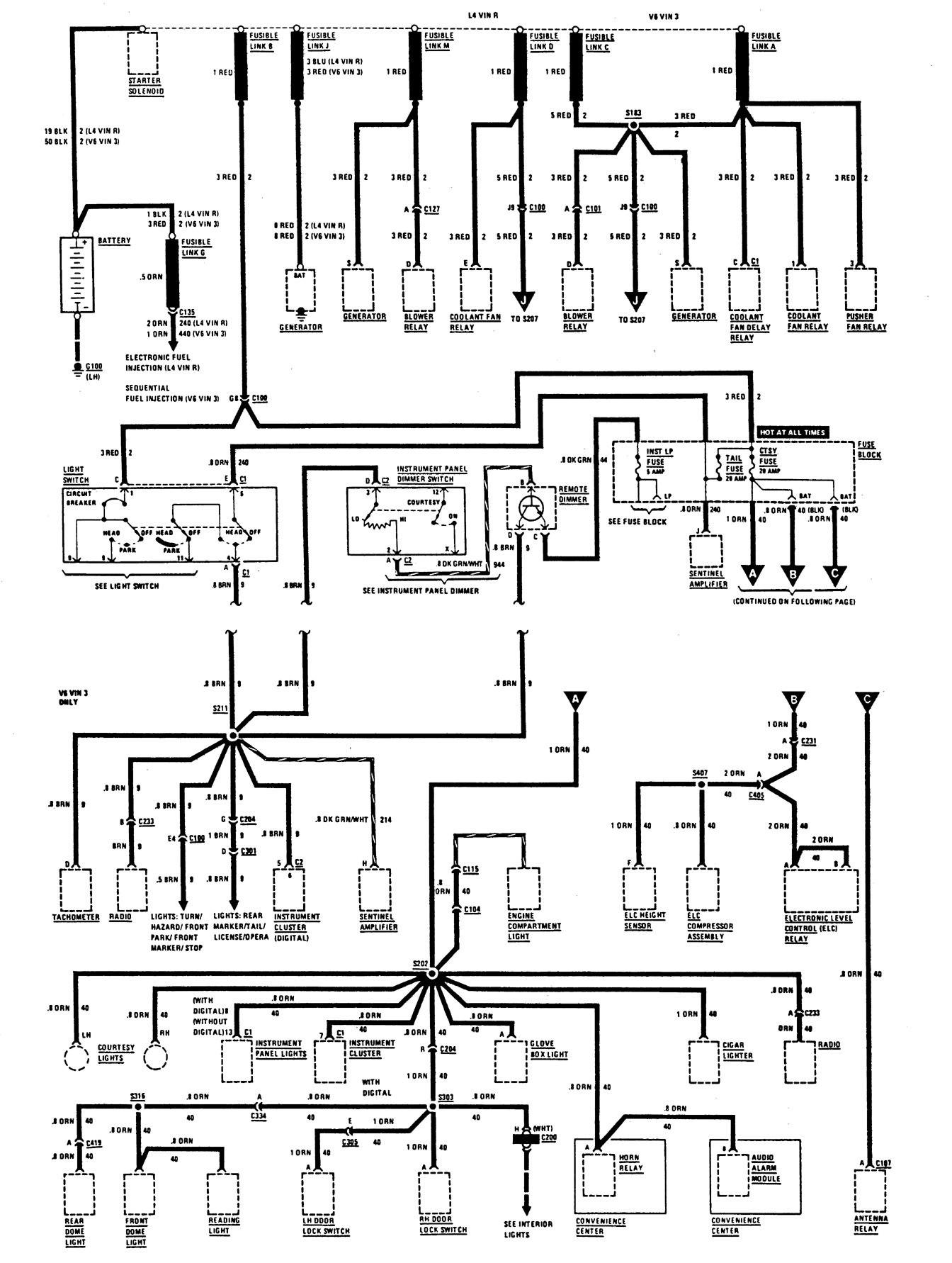 hight resolution of 87 buick century wiring diagram