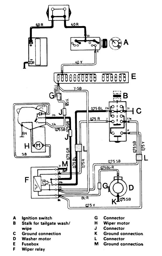 audi 1988 wiring diagram