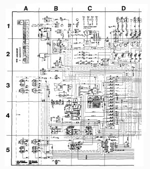 Volvo 245 (1989)  wiring diagrams  audio  CARKNOWLEDGE