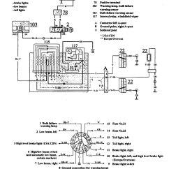 Volvo Wiring Diagrams 740 Telecaster Diagram 5 Way Switch 1991 Audible Warning