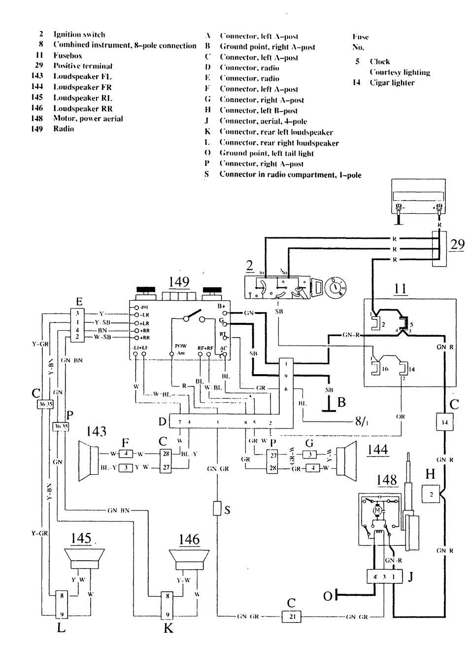 hight resolution of lh 22 to ezk117 my l98 corvette engine diagram lightning volvo 240 wiring diagram volvo truck wire diagram hazard