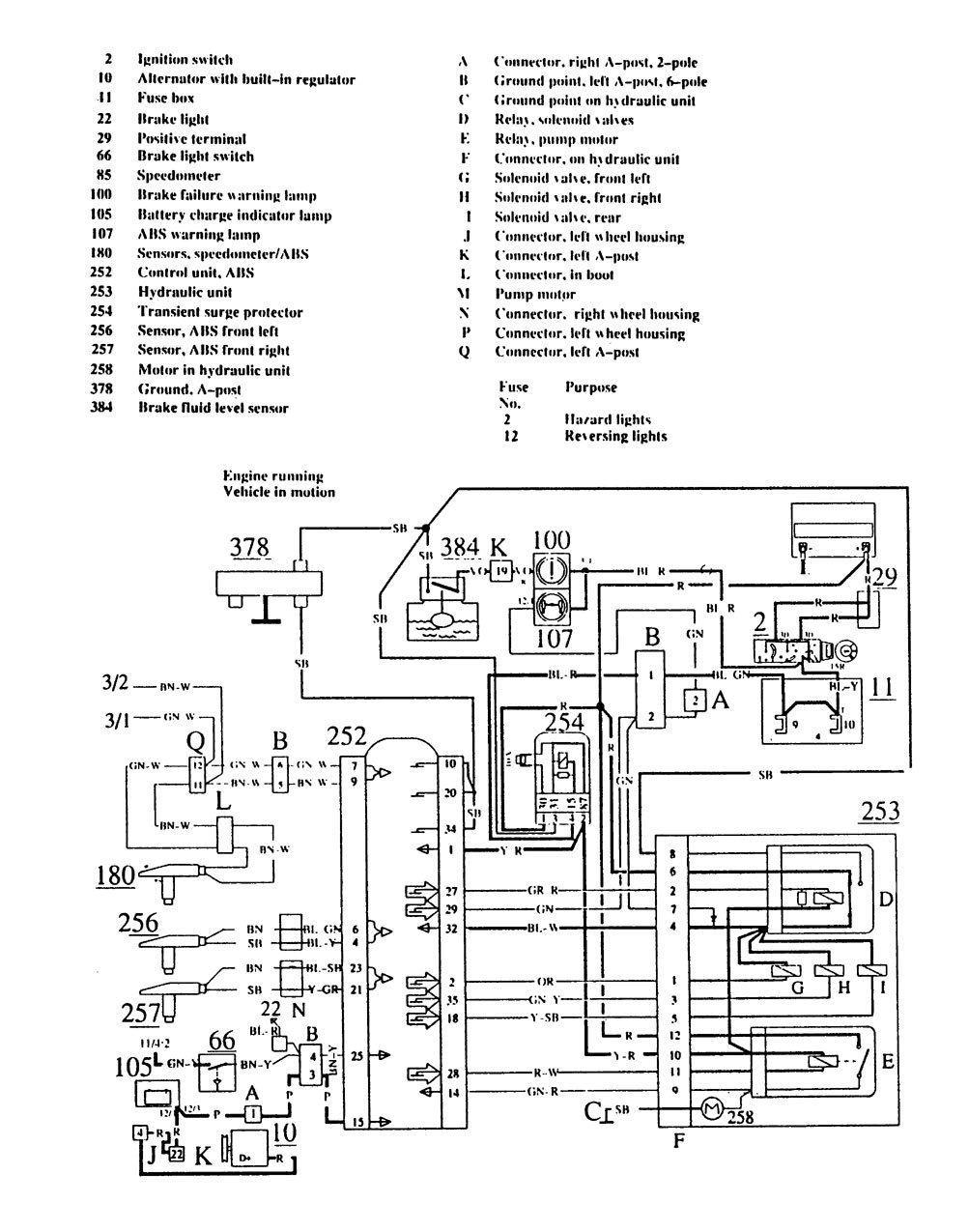 1989 Volvo 740 Relay Diagram Wiring