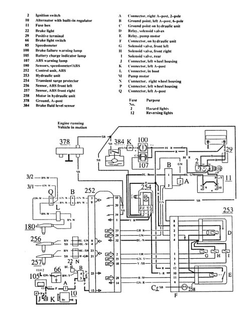 small resolution of 91 volvo 740 fuse box diagram volvo 740 starter wiring 1990 volvo 240 tail light wiring diagram volvo fuel pump wiring diagram