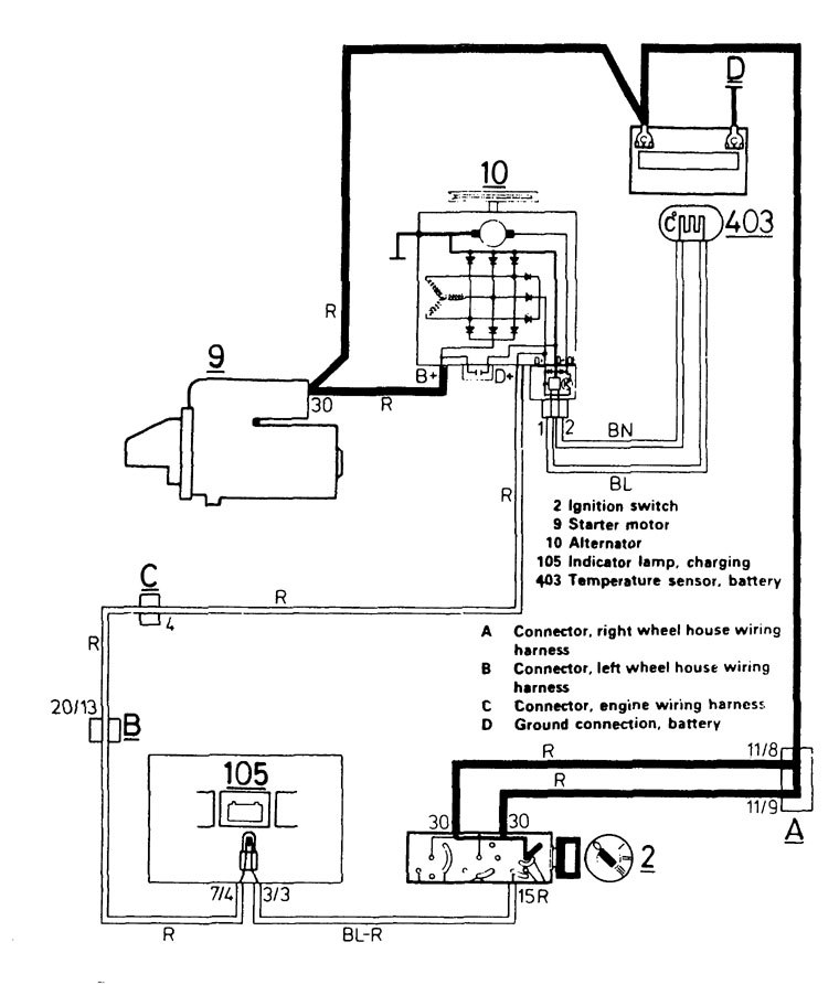 1986 volvo 740 wiring diagram