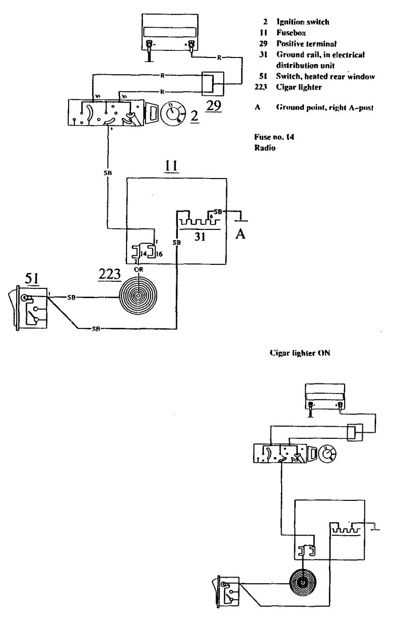 1990 Volvo 740 Fuse Diagram Auto Electrical Wiring Related With