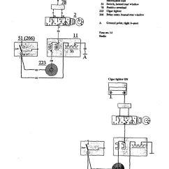 Volvo Wiring Diagrams 740 Toyota Corolla 1991 Cigar Lighter