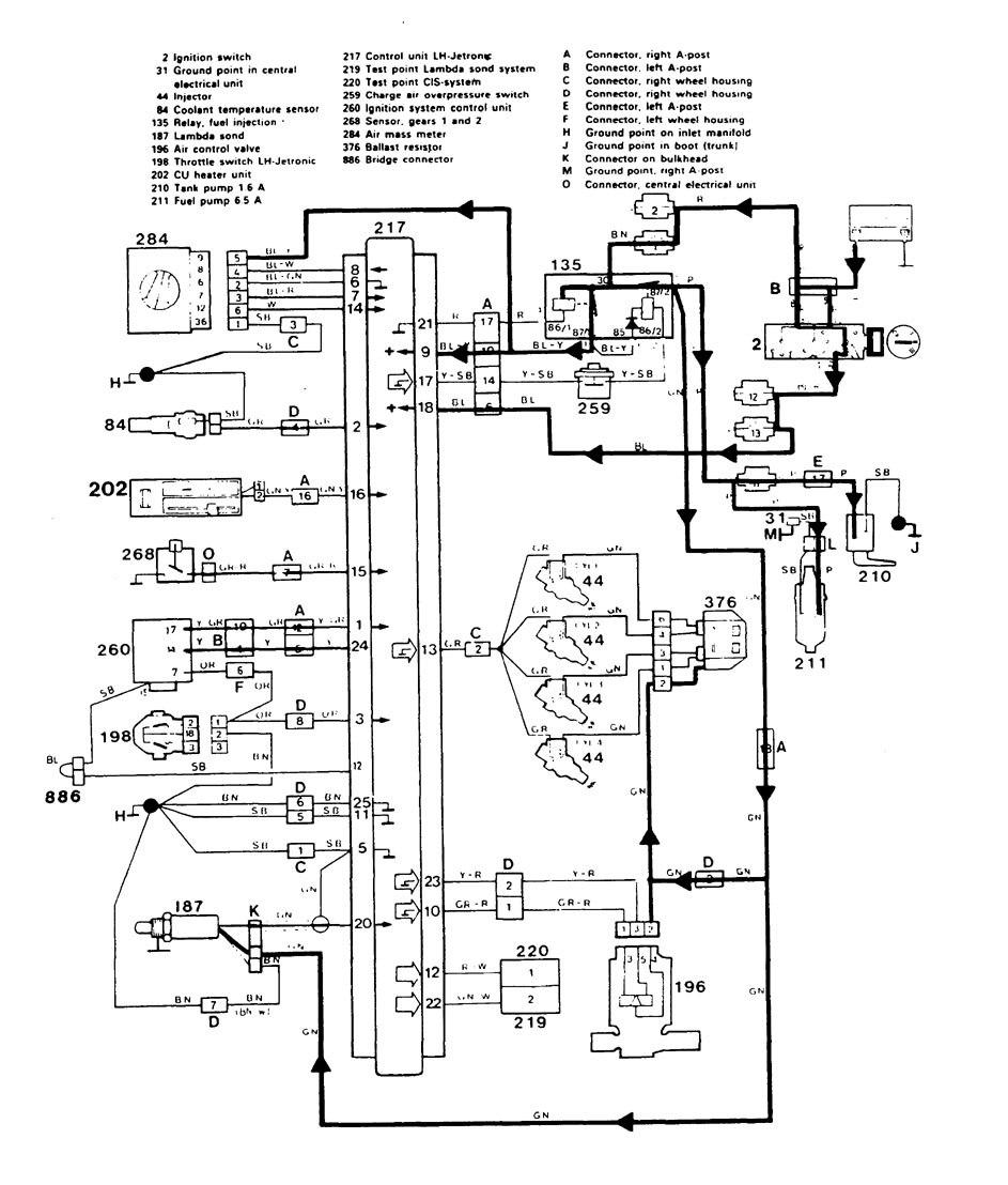 [DIAGRAM] 1984 Volvo 76gle Electronic Diagram FULL Version