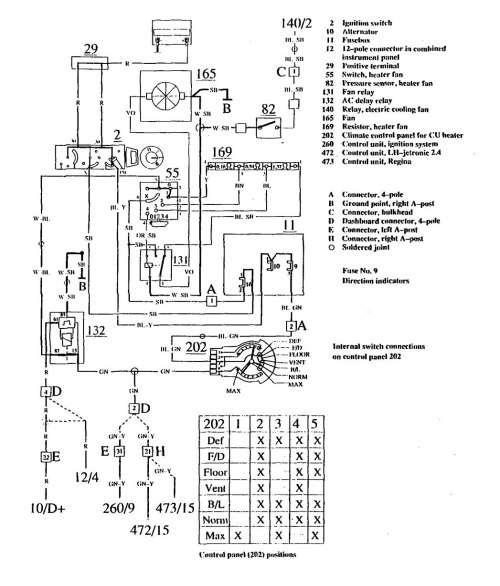 small resolution of volvo 740 1990 wiring diagrams heater carknowledge 1990 volvo 240 radio wiring diagram
