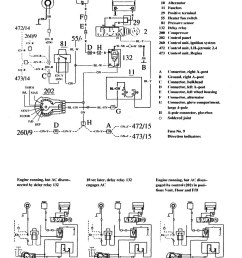 volvo 740 wiring diagram hvac controls part 1  [ 1023 x 1313 Pixel ]
