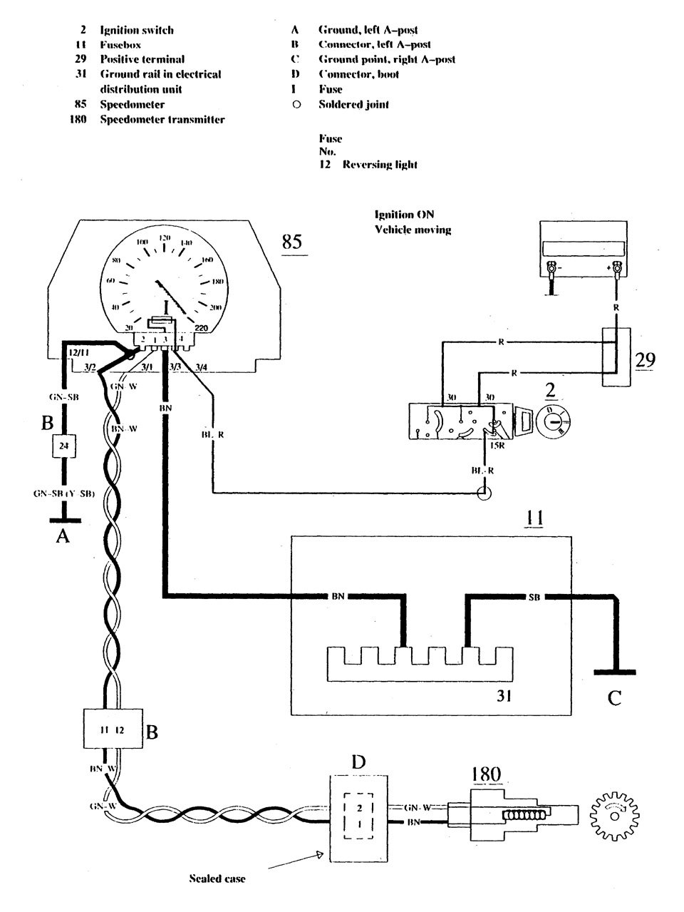 Volvo 740 Ignition Switch Wiring Diagram | Digital Resources on