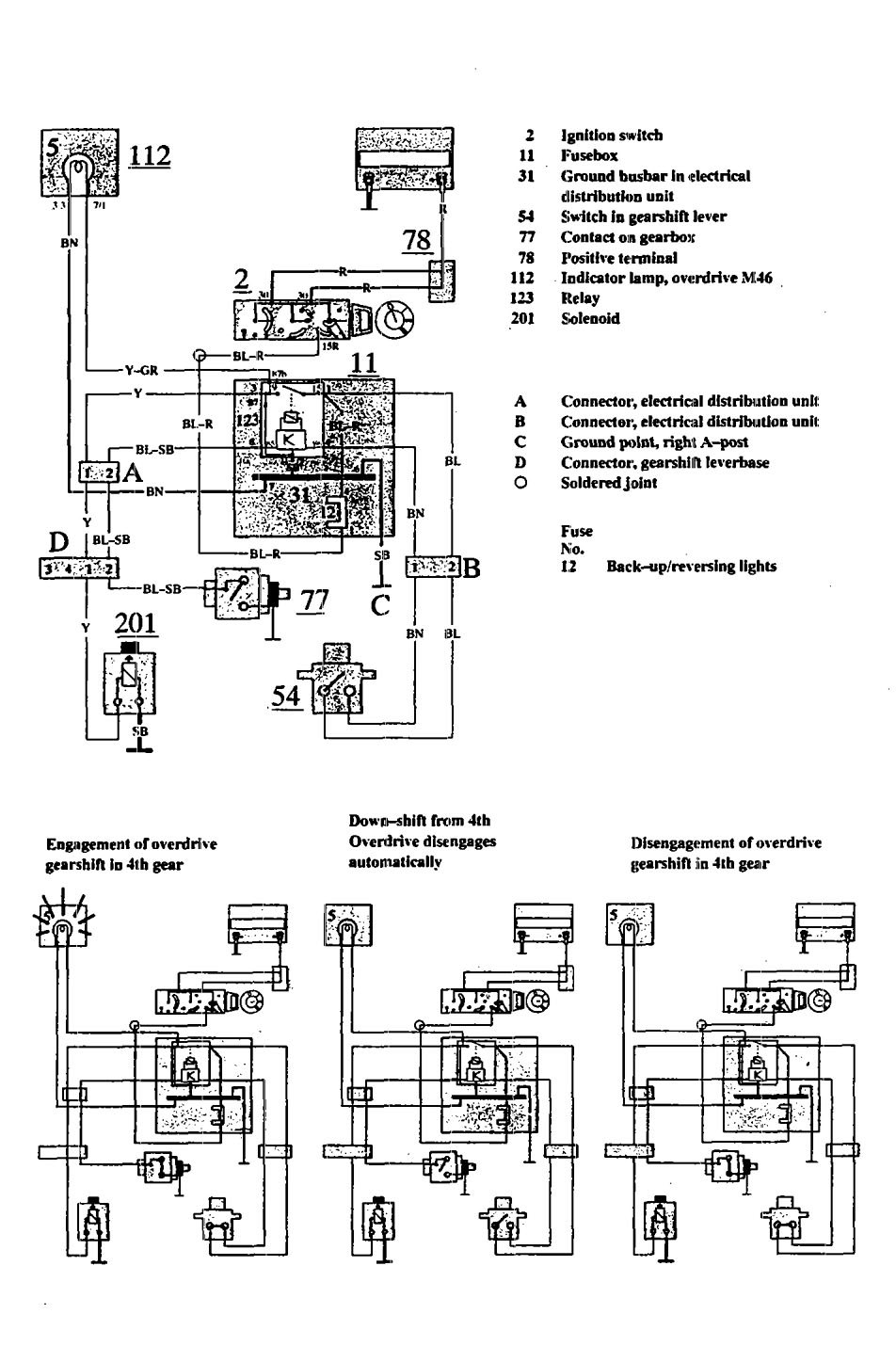 hight resolution of volvo 740 1991 wiring diagrams overdrive controls carknowledge rh carknowledge info 1991 volvo 740 radio wiring