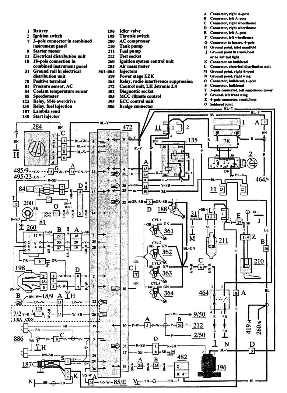 medium resolution of  uplander belt volvo 740 1991 wiring diagrams fuel controls carknowledge on 2007 chevy