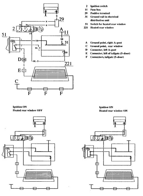 small resolution of volvo 740 1990 wiring diagrams rear window defogger volvo fuel pump wiring diagram volvo vn wiring