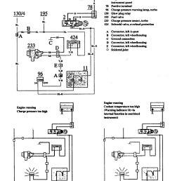 volvo 740 wiring diagram warning indicator [ 981 x 1364 Pixel ]