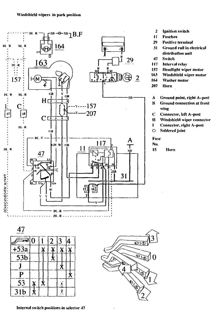 1991 volvo 240 radio wiring diagram orbital frontal dorsal lateral brain parts of the insula 1990 auto electrical related with