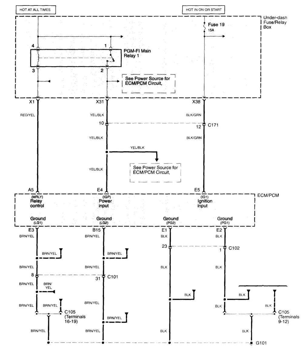 medium resolution of acura tl wiring diagram fuel control part 1