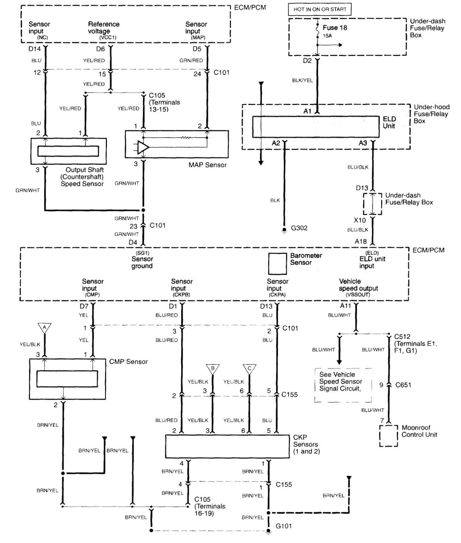 medium resolution of  acura tl wiring diagram fuel control part 5