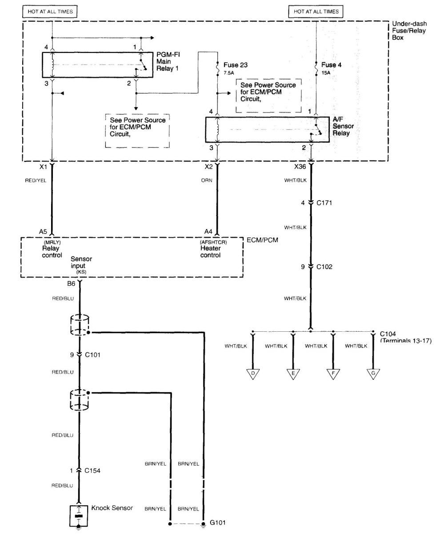 medium resolution of  acura tl wiring diagram fuel control part 7