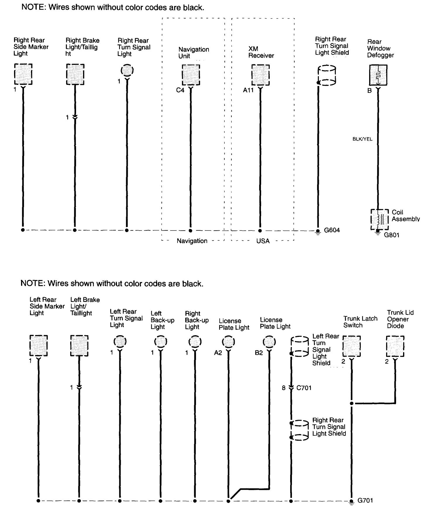 hight resolution of acura tl wiring diagram ground distribution part 13 acura tl 2003