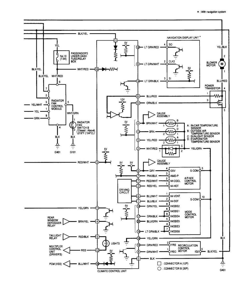 medium resolution of  acura tl wiring diagram hvac control part 2