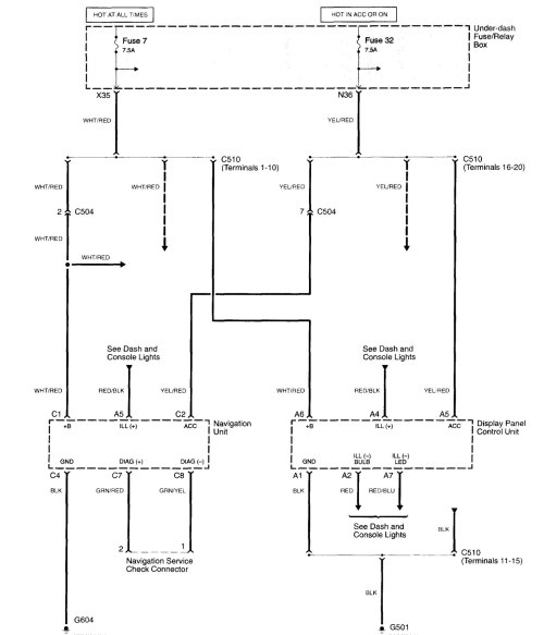 small resolution of acura tl wiring diagram navigation system part 1