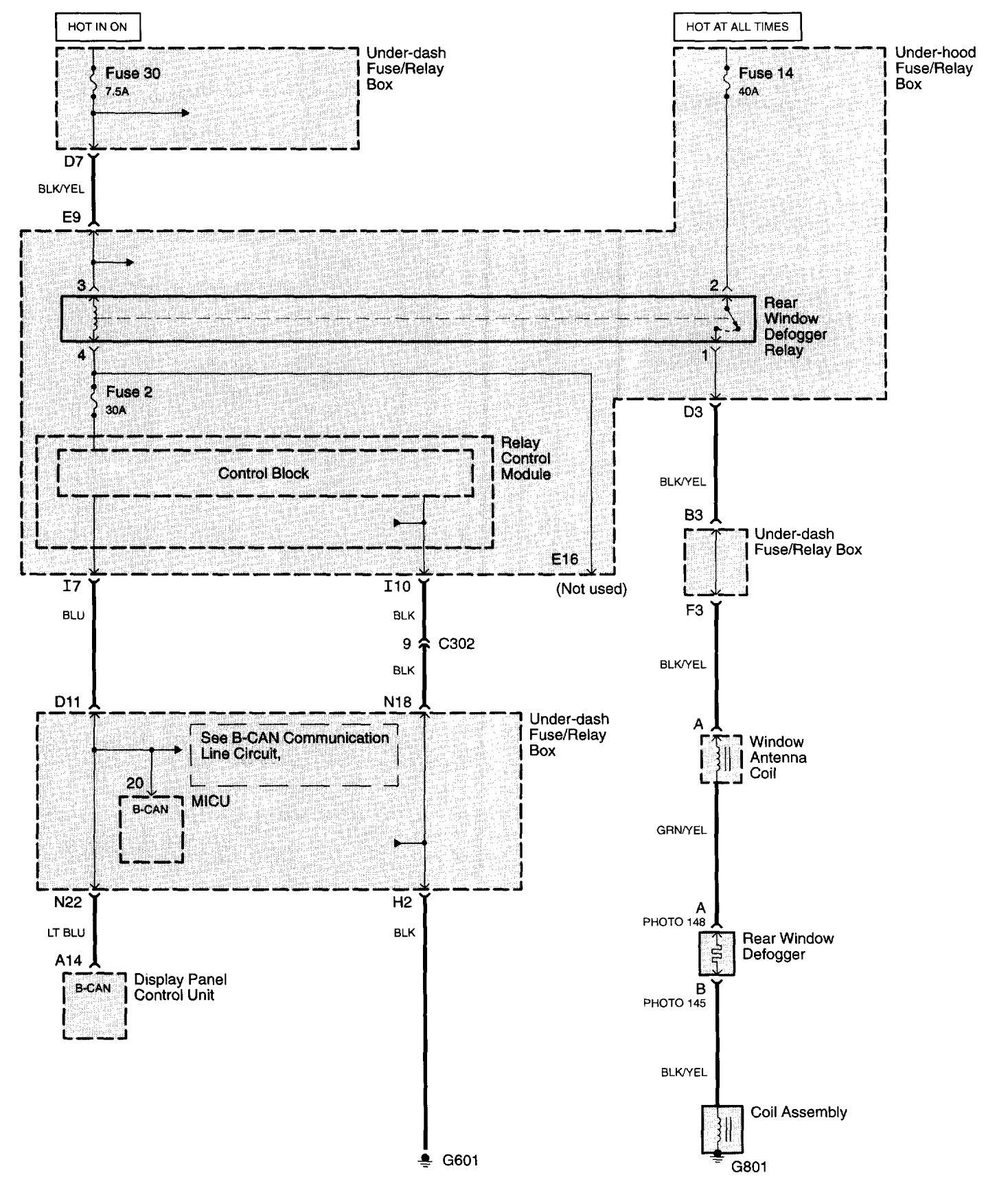 Acura Rsx Window Wiring Diagram