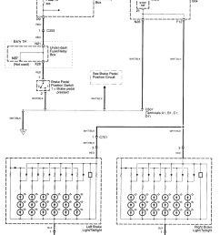 acura tl wiring diagram stop lamp part 1  [ 1460 x 1760 Pixel ]