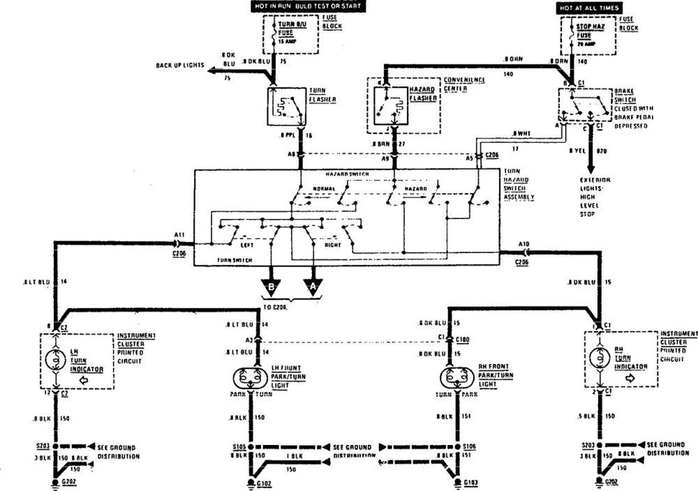 medium resolution of buick century wiring diagram exterior lighting part 1