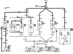Buick Century (1990  1991)  wiring diagrams  interior