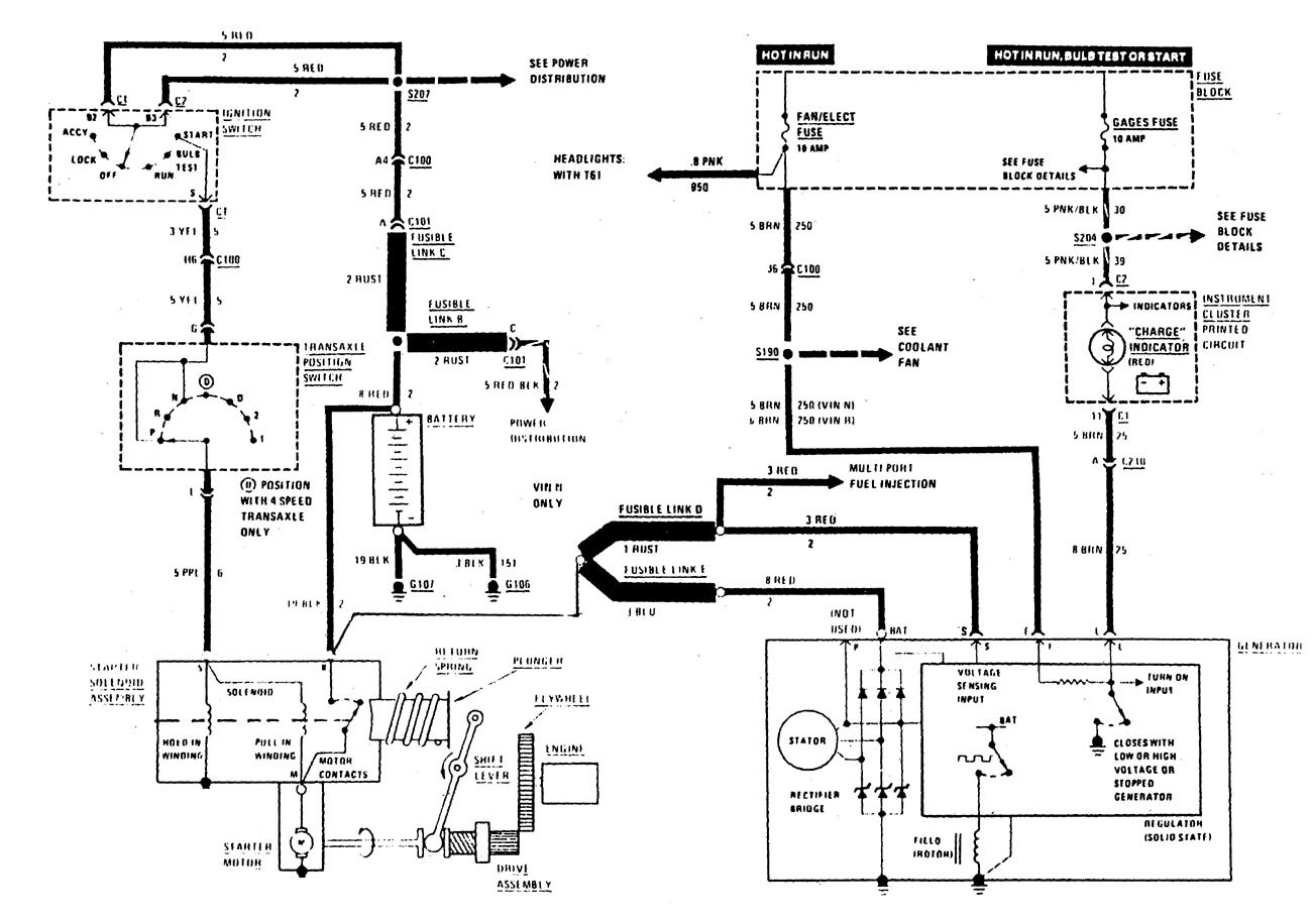 Diagrams Of Starter Wiring Buick Century
