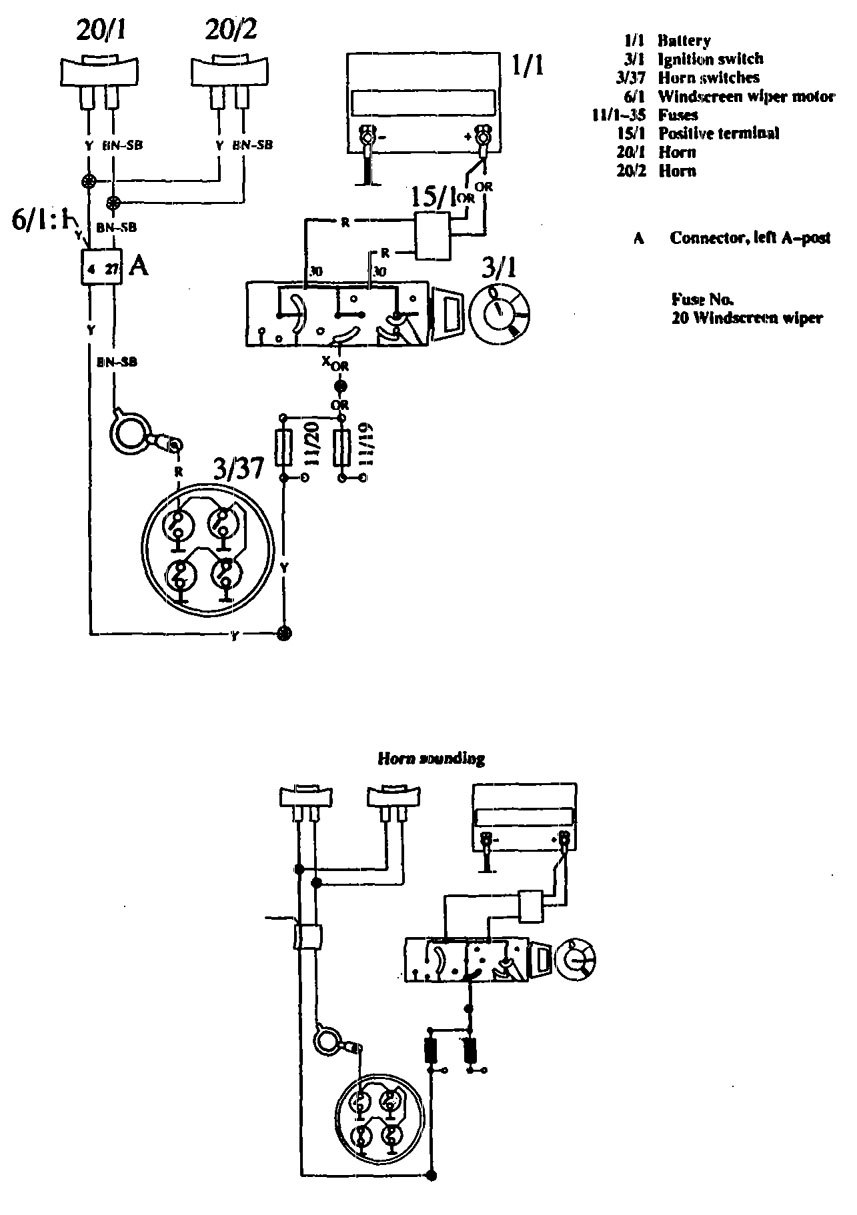 hight resolution of volvo 760 1990 wiring diagrams horn carknowledge