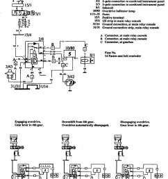 volvo 760 1990 wiring diagrams overdrive controls [ 939 x 1217 Pixel ]