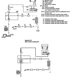 volvo 760 1990 wiring diagrams rear window defogger [ 947 x 1121 Pixel ]